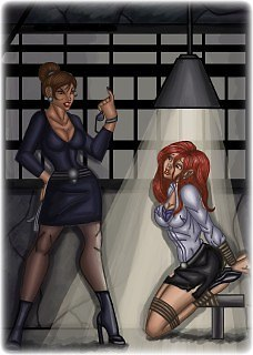 Bondage photo pic picture Artwork Damsels