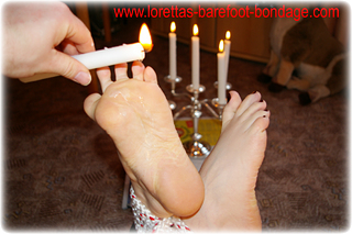 Bondage photo pic picture Guests barefoot, bastinado, tickling, foot torture