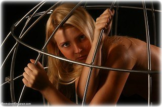 Bondage photo pic picture Oksana cage, nude